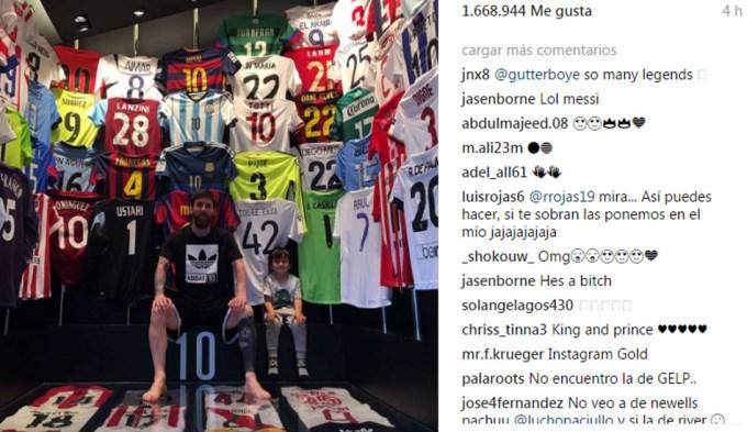 Messi abrió la puerta de su