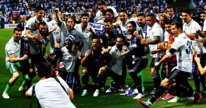 Real Madrid se consagró campeón de España