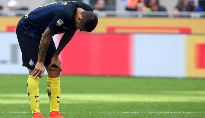 Se lesionó Icardi, justo cuando iba a ser convocado a la Selección
