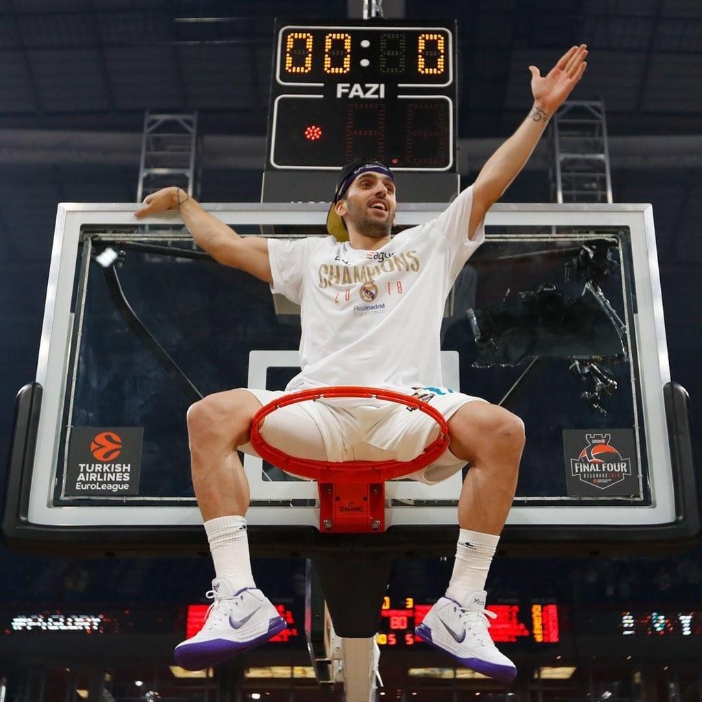 Campazzo, campeón de la Euroliga con Real Madrid