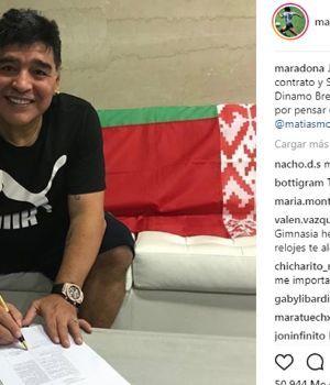 Maradona, nuevo presidente de un club europeo