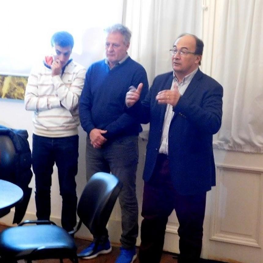 Adrián Domenech lanzó el programa ProDFFI en Saladillo