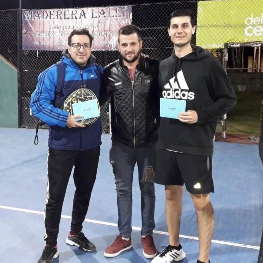 Fernando Monfolleda – Luis Mengarelli campeones en El Solar