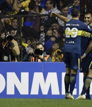 Boca bailó, Palmeiras lo ayudó y sacó pasaje a octavos