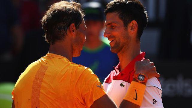 Nadal barrió a Djokovic y jugará la final en Roma
