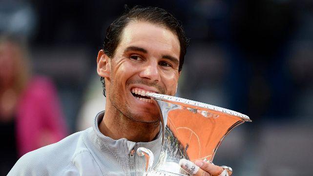 Nadal hace polvo todo: Ganó Roma y vuelve al Nº1 del mundo
