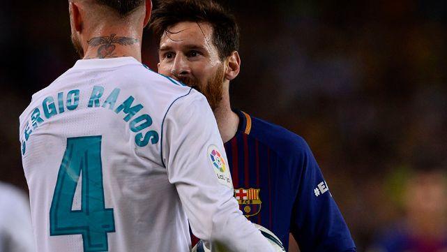 Sergio Ramos acusó a Messi de