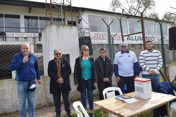 Encuentro zonal de Escuelitas de Fútbol en Huracán