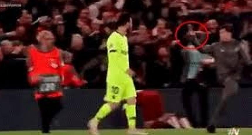La burla que sufrió Lionel Messi luego de la catástrofe del Barcelona ante el Liverpool