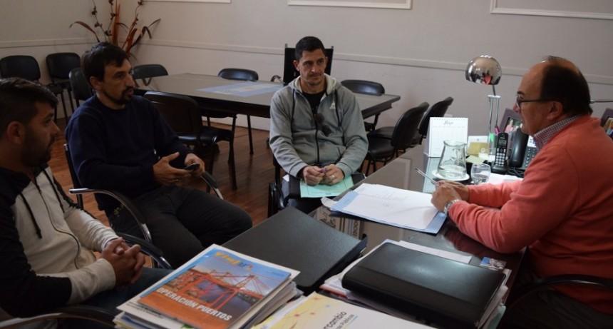 Representantes de Club La Campana hablaron con el Intendente