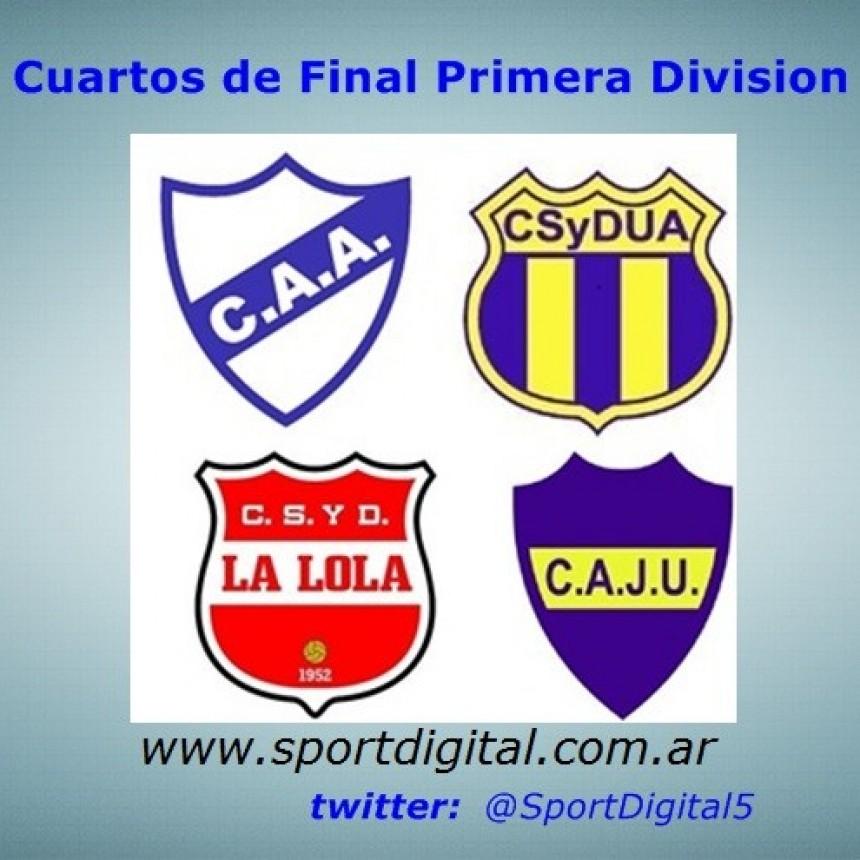 Se juegan los cuartos de Final de Reserva y Primera División del torneo Apertura