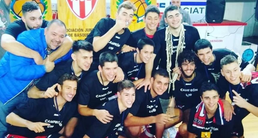 Selección de Junín campeón Provincial de Básquet sub19