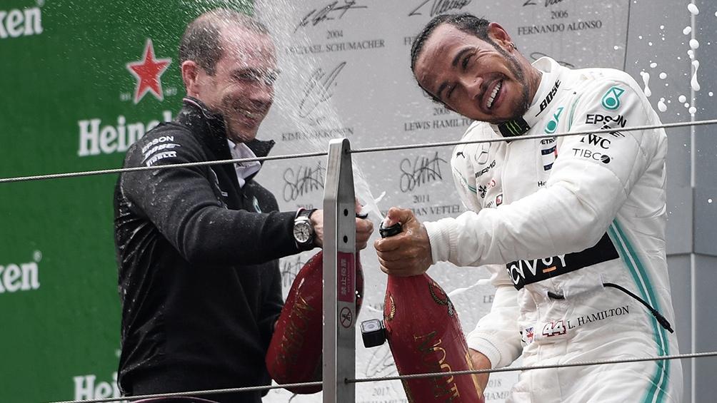 Hamilton ganó en Barcelona y esta en la cima del Mundial de F1