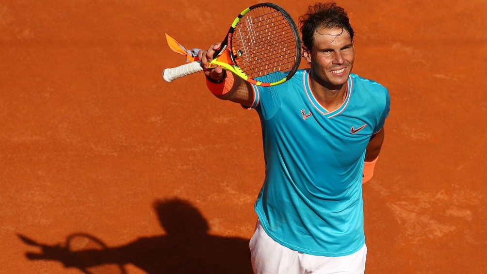 Nadal celebra su noveno Masters en Roma tras vencer a Djokovic