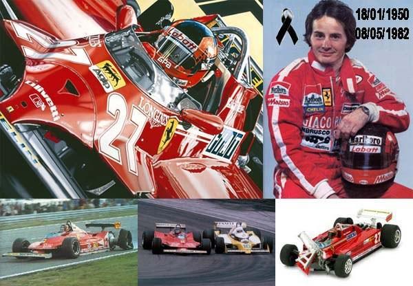 Un día como hoy fiel a su estilo, a fondo, se fue Gilles Villeneuve