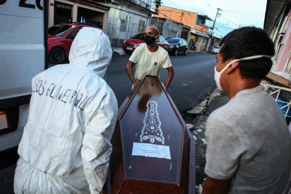 Brasil se perfila como el próximo epicentro mundial de la pandemia del coronavirus