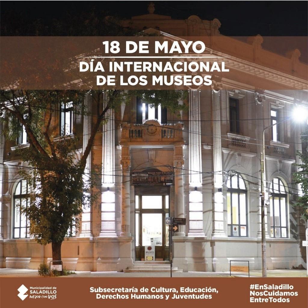 SALADILLO: DIA INTERNACIONAL DE LOS MUSEOS