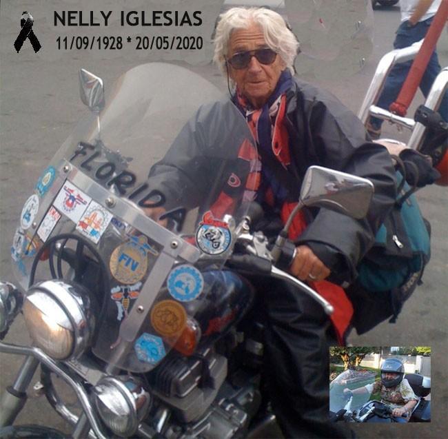 Falleció la Motoquera más longeva de Argentina