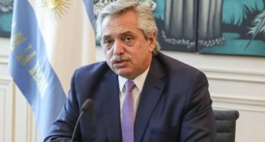 El Presidente se reunió en Olivos con Rodríguez Larreta y Santiago Cafiero