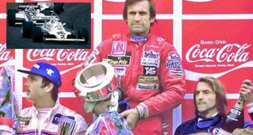 Un 17 de mayo ganaba por última vez Reutemann en la Fórmula Uno