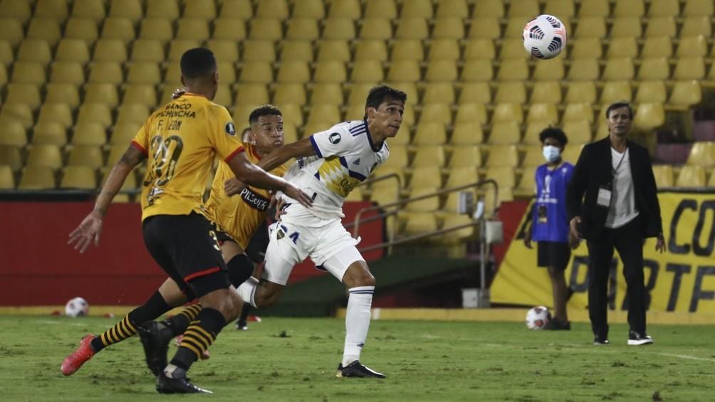 Boca perdió en Ecuador ante el Barcelona