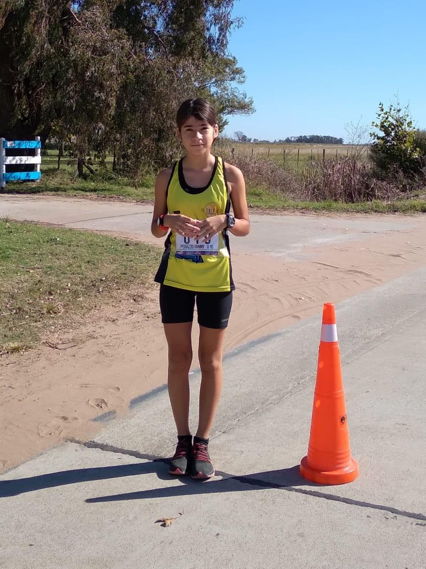 Funny Perazzo ganó en la Virtual Rio Running