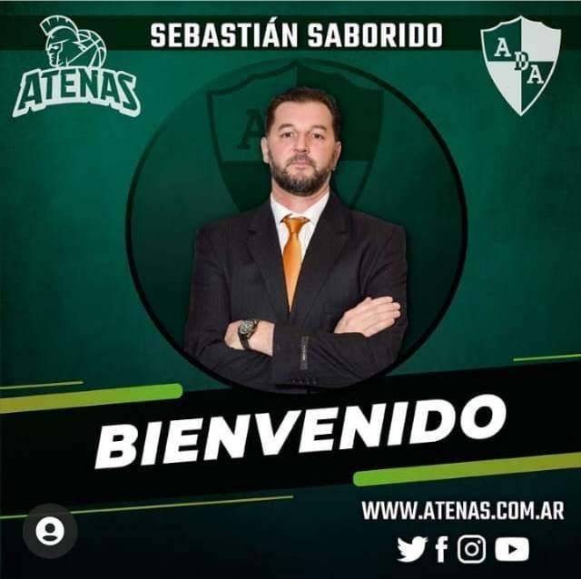 Sebastián Saborido llegó a lo más alto del basquetbol nacional