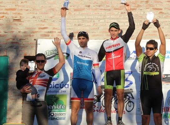David Asensos ganó en Chivilcoy en la máster A1