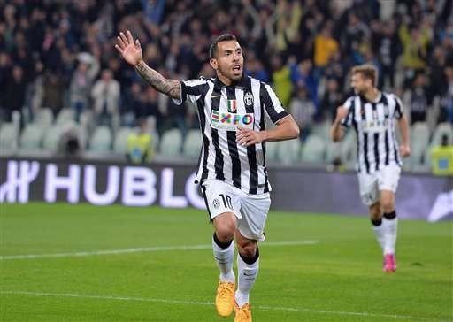 Juventus ya asumió la partida de Carlitos Tevez