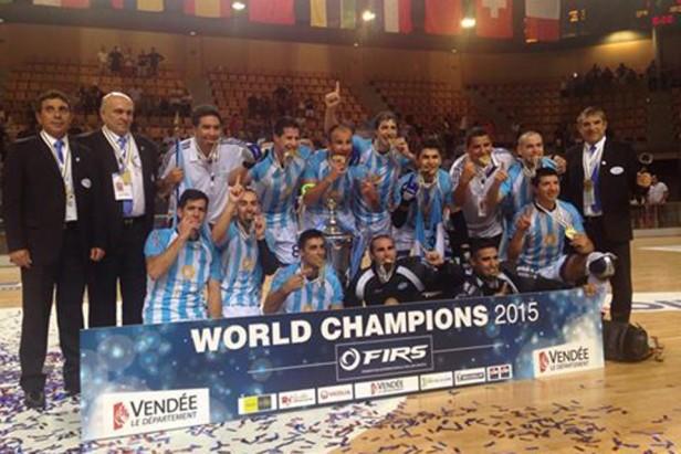 Argentina campeón mundial de hockey sobre patines, tras golear 6-1 a España