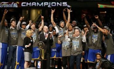 Golden State Warriors, nuevos campeones de la NBA
