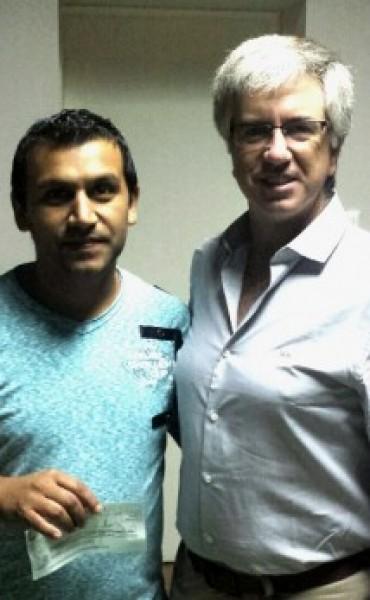 El club Deportivo Cazón recibió subsidio de Alejandro Armendáriz
