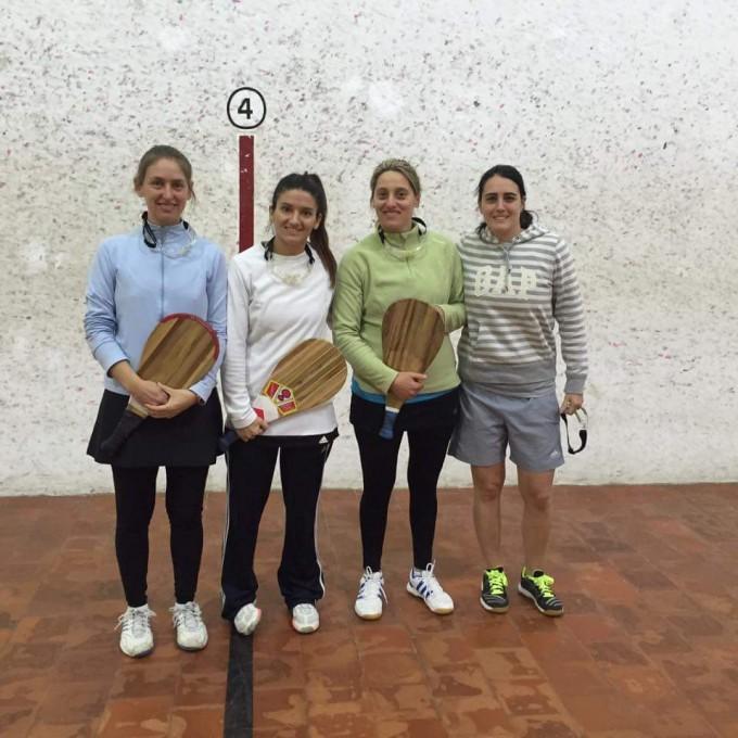 Fabiana Burgos - Mariela Otero se consagraron campeonas