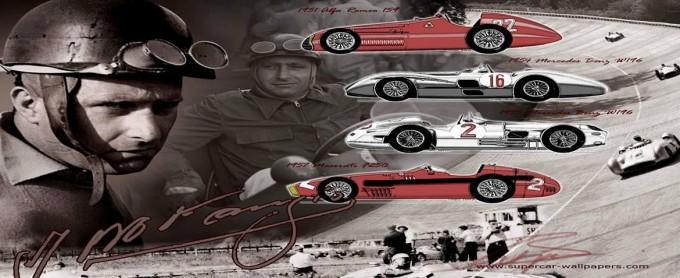 Se celebra hoy el 105° aniversario del nacimiento de Juan M. Fangio