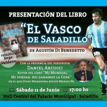 """Presentación del libro """"El Vasco de Saladillo"""""""