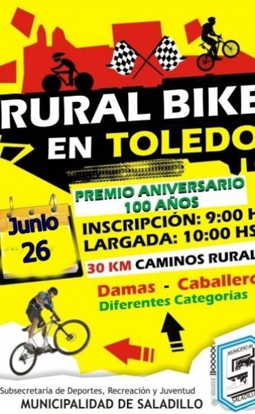 El 26 de junio Rural Bike en Álvarez de Toledo