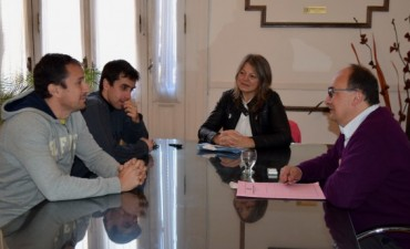 Presidente del Saladillo Hockey se reunió con el Intendente