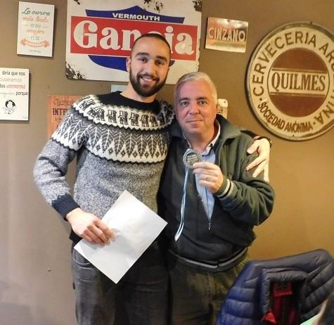 """Gabriel Hernaez: """"Me emociona este reconocimiento"""""""