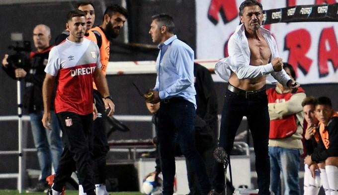 Tras la dura caída por Copa Argentina, Vivas se fue de Estudiantes
