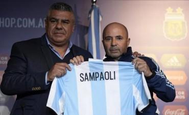 La AFA presentó a Jorge Sampaoli: