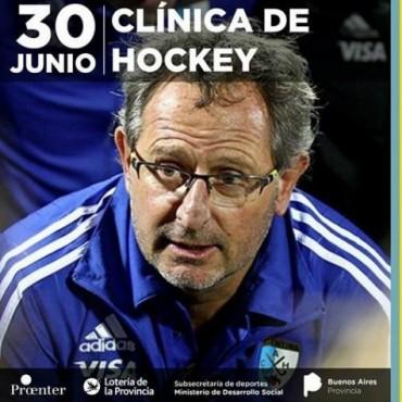 Gabriel Minadeo dará Clínica de Hockey en Saladillo