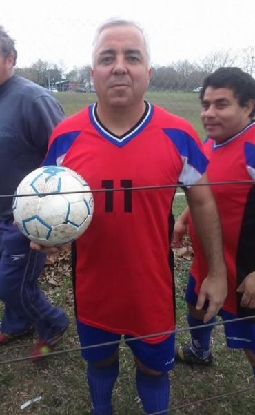 Se jugó otra fecha del Torneo de Veteranos de fútbol en Saladillo