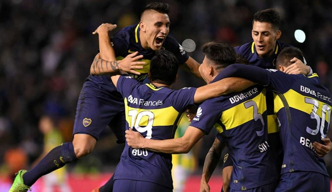 Boca aplastó a Aldosivi y quedó a un paso del título
