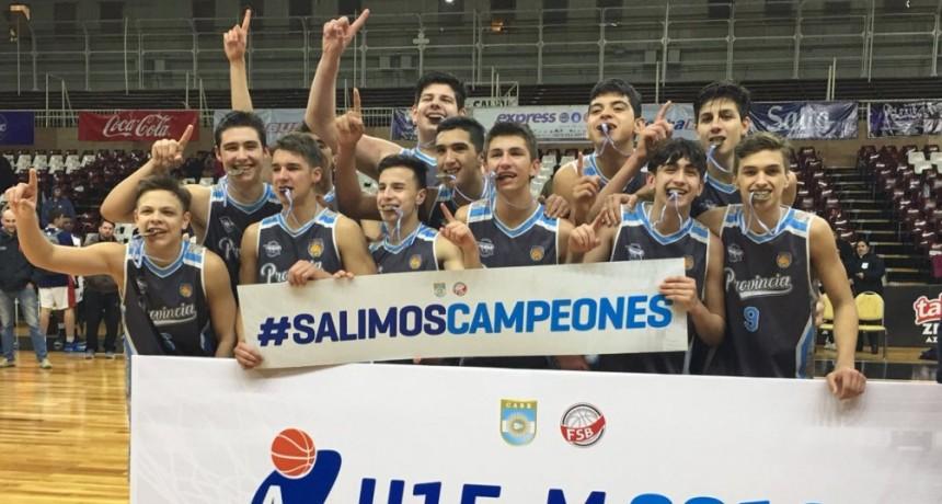 Buenos Aires campeón argentino sub15