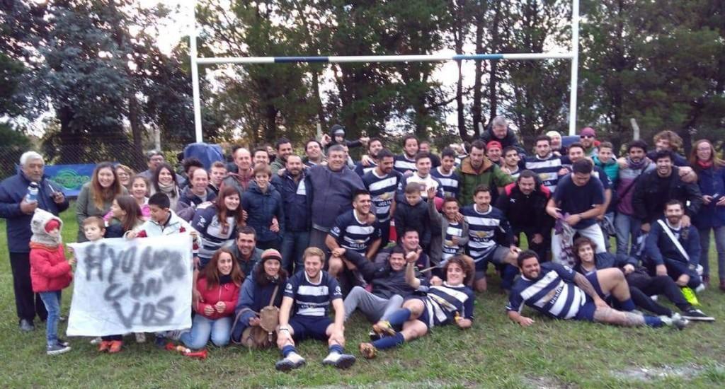 Saladillo Rugby en la final de la Uroba