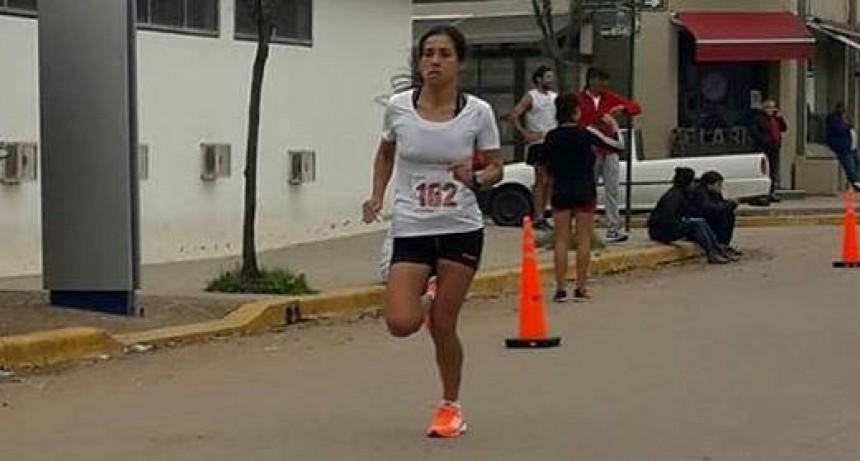La saladillense Francisca Almirón ganó los 10K de Roque Pérez
