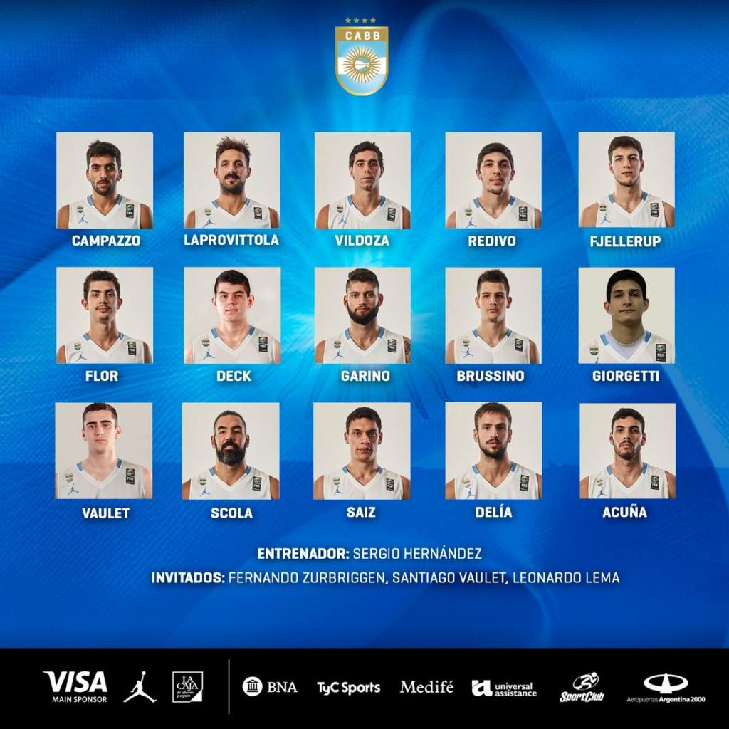 Con Marcos Delía se concentra la selección mayor