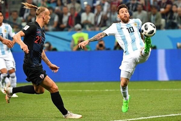 Lamentable actuación de la selección Argentina