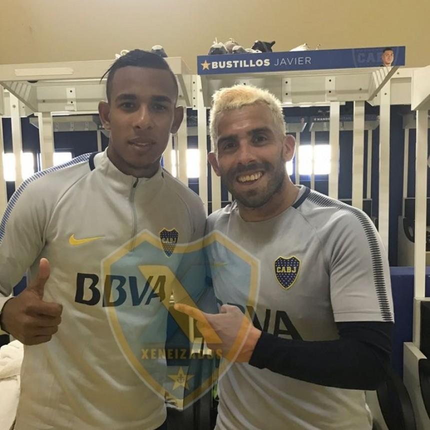 Boca presentó oficialmente a su primer refuerzo: Sebastián Villa