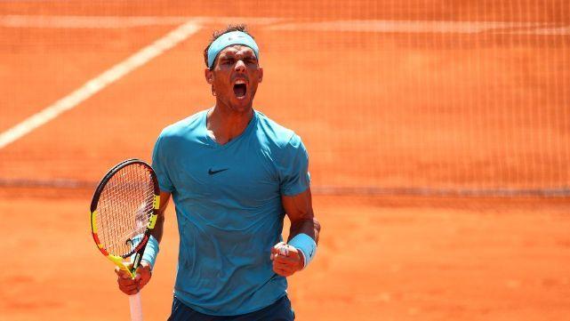 Nadal aplastó a Del Potro y es finalista de Roland Garros